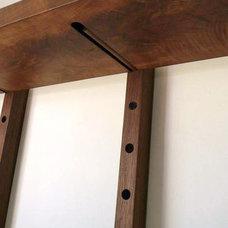 Contemporary Wall Shelves by wuda