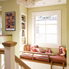 traditional staircase by Ana Williamson Architect