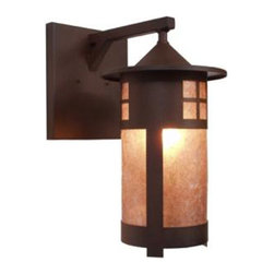 Steel Partners Inc - Wet Sconce - PASADENA - Wet Location - Every piece we create is unique — handcrafted at our factory in Chehalis, Washington, USA. Due to this, lead times are 2 to 4 weeks.