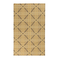 "Surya - Surya Sheffield Market SFM-8007 (Lima Bean) 3'3"" x 5'3"" Rug - This Hand Woven rug would make a great addition to any room in the house. The plush feel and durability of this rug will make it a must for your home. Free Shipping - Quick Delivery - Satisfaction Guaranteed"