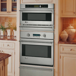 GE Monogram Built-In Advantium Oven - Built-in ovens with Advantium technology can go wherever they're needed most—over a Monogram warming drawer, as a complement to a Monogram single convection oven, or by itself as its own speedcooking center.