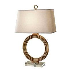 Feiss Lighting - 1 - Light Table Lamp - Feiss Lighting 10241VGD  in Venetian Gold