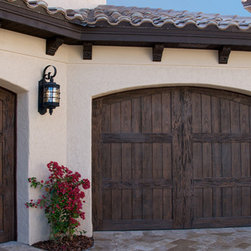 Ranch House Doors Elements Collection Faux Wood Garage Doors -