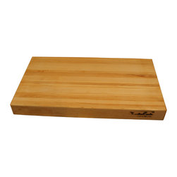 Shark Shade / Martin Carts - Edge Grain Hard Maple Cutting Board - Made with Rock Hard Maple Planks