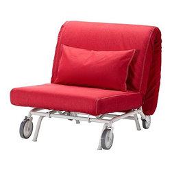 Chris Martin/IKEA of Sweden - IKEA PS LÖVÅS Chair bed - Chair bed, Vansta red
