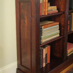 Traditional Lightly Distressed Bookcase -