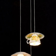Eclectic Pendant Lighting by Bonasera