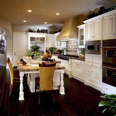 Mediterranean Kitchen Cabinets by WOOD-ARTISANS