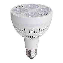 Incolight - PAR30-HIPO-LED-2800LM-6000K-35W, 80 Deg - LED PAR30-HIPO-35W-2800LM-6000K-Cool White-80Deg
