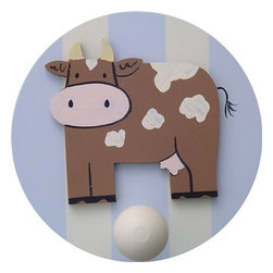 Wish Upon A Star - On Sale Cow Wall Peg - Set of Two - Cow Wall Peg - Set of Two