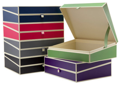 traditional storage boxes by See Jane Work