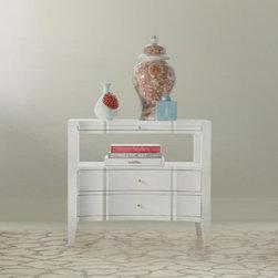 Hooker Furniture - Quatrefoil Bedside Chest - Mélange