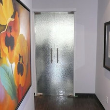 contemporary interior doors by cbdglass1.reachlocal.net