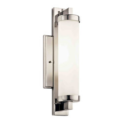 Kichler Lighting - Kichler Lighting 10481PC Jervis Polished Chrome Wall Sconce - 1, 18W GU24