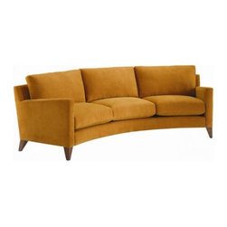 Our Academy Awards of Furniture: The Oscar Goes To? - This Rave-ing sleek crescent shaped sofa is a great way to add style and intimacy to a living space. The slight curve will hug you and your guests, while the clean lines still offer a contemporary touch to your decor. The Rave can fill the role for sofa in your decor.