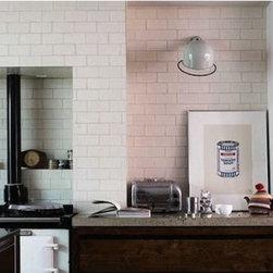 Jielde Lamps - The Loft D1000x Lamp makes a beautiful kitchen wall scone,