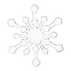 Village Wrought Iron - VWI MMB-MAG-85W Snowflake Message Board Magnet Powder Coated - Our Heavy Duty Powder Metal Coated Wrought Iron Message Board Magnets are beautiful, decorative well made and sturdy to use on any magnetic surface where you would like to leave a message for your loved ones.Measurements are approximate and Silhouettes vary slightly in size.Approximately 2 1/4 In. W x 2 1/2 In. H.Made in the USA.