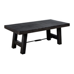 Iron Turnbuckle Coffee Table - Product Features: