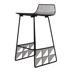 Bend Goods Low Back Counter Stool Black With It S