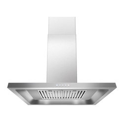 Golden Vantage - Golden Vantage 30-inch OSWRH308A-30-GV Stainless Steel Wall Mount Range Hood - This range hood is effective and stylish. In stainless steel finish,this range hood looks great in any kitchen.