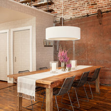 Eclectic Dining Room by Capella Kincheloe Interior Design