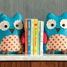 Contemporary Bookends by Layla Grayce