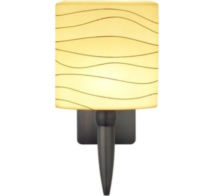 Wall Sconces Wave Oval Torch Wall Sconce by Oggetti Luce