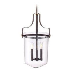 Quoizel Lighting Uptown Penn Station Western Bronze Pendant Light with Bowl / Do -