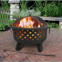 Garden Lights Series Baton Rouge Fire Pit - Create an incredible ambience with the Garden Lights Series Baton Rouge Fire Pit! Featuring a classic design that will be a great addition to your patio or garden! With 415 sq. in. of burning area you will be able to enjoy a nice sized fire throughout the evening.