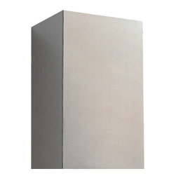"""33"""" Flue Extension for 36"""" Artisan Series Stainless Steel Island Range Hood - Ideal for tall ceilings, adding this flue extension to your island range hood will cover unappealing ductwork with sleek stainless steel. Made to fit with the 36"""" Artisan Series Stainless Steel Island Range Hood."""