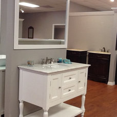 Mediterranean Bathroom Vanities And Sink Consoles by Home Design Outlet Center