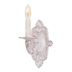 Crystorama - Paris Flea Market 15 in. Wall Sconce - Bulb not included