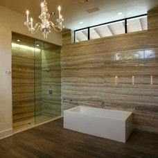 Contemporary Bathroom by UrbanCraft Custom Builders, LP
