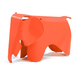 ZUO MODERN - Phante Chair Orange - Constructed with children in mind, the Phante kid's chair is made out of durable, scratch-free polypropylene; kids will find a juggle adventure on the Phante, while parents have peace of mind from breakage.