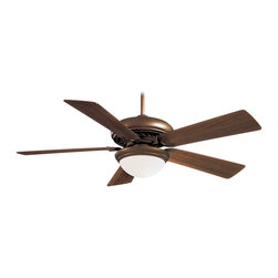 "Minka Aire - Minka Aire F569-ORB Supra Oil Rubbed Bronze 52"" Ceiling Fan with Remote Control - Features:"