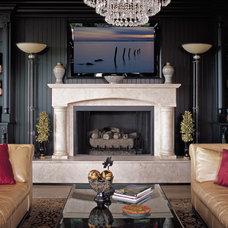 Contemporary Indoor Fireplaces Nick Zhang
