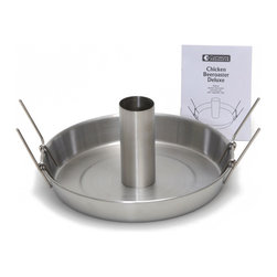 Camerons Products - Beer Can Roaster Deluxe - Never have dry chicken again!