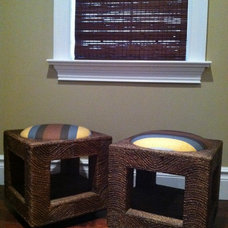 Transitional Footstools And Ottomans by CANDICE ADLER DESIGN LLC
