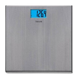 """Taylor - Bath Scale 1.5"""" LCD Display - Features:"""