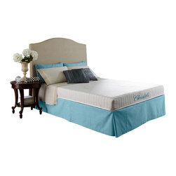 "Christeli - Stockholm 7"" - Size: Queen Mattress - Mattress only is being sold. Accessories not included."