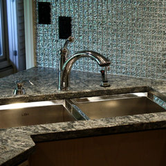 contemporary kitchen sinks by Stone Source