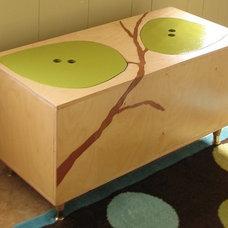 Modern Toy Storage by Sweet Green Tangerine