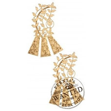 Gold leaves ear cuff available only at Pernia's Pop-Up Shop.