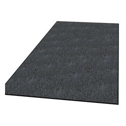 buyMATS Inc. - 3' x 4' Duro Rib Mat Hunter Green - Berber style needle punch carpet provides superior wear and cleaning characteristics.
