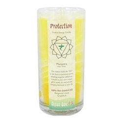 Aloha Bay Chakra Candle Jar Protection - 11 Oz - Aloha Bay Chakra Candle Jar Protection Description: