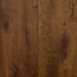Zesty Zaragoza - Zaragoza, from our Antiguo Collection bears reminiscence to our Reclamation Plank line of solid hardwoods, while crafting interiors with a smooth, slightly distressed appeal in a toasty auburn tone.