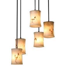 Pendant Lighting LumenAria 5 Light Cluster Pendant by Justice Design