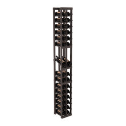2-Column Display Row Wine Cellar Kit in Pine