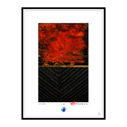 Studio Eight - Contemporary Modern Abstract Fine Art, CHAPTER, by Charles Sabec, 2014, Black - CHAPTER, by Charles Sabec, 2014.