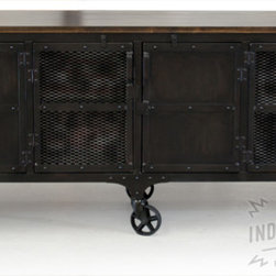 Industrial Bar Carts: Find Rolling Bar Cart and Serving Cart Designs Online